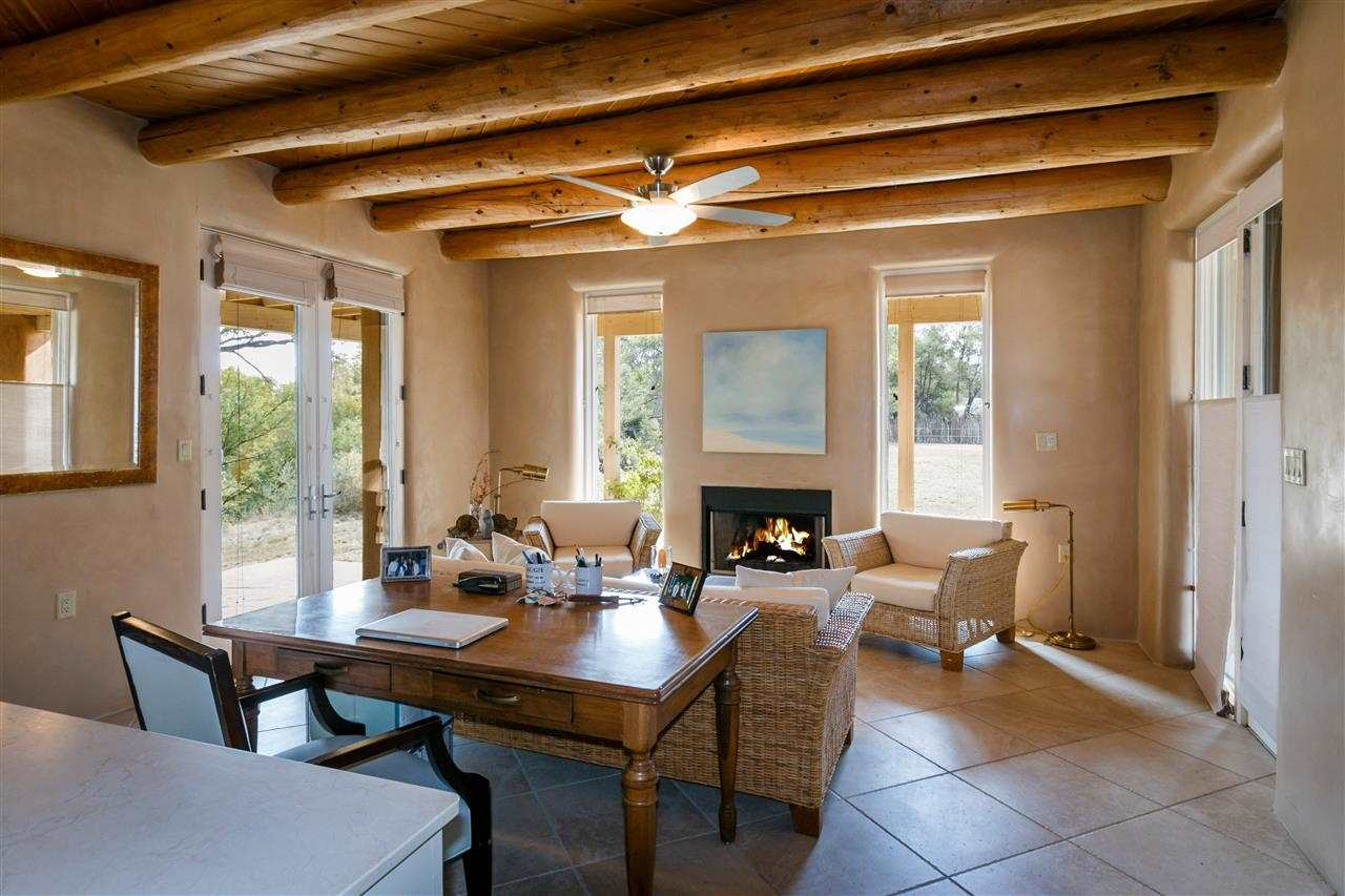 Marcellina Lane Galisteo NM  MLS - Adobe home design
